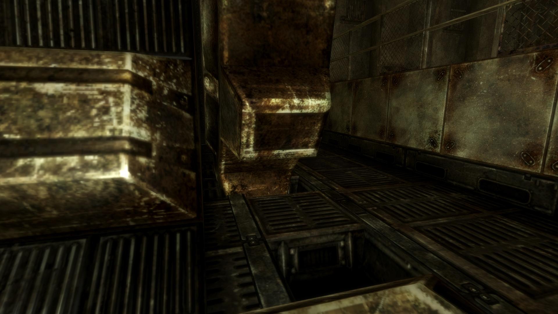 Broken Vault 34 door