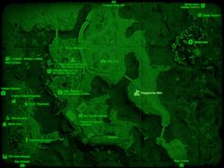 FO4 Нордхаген-Бич (карта мира)