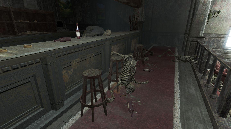 FO4 Boylston Club bar