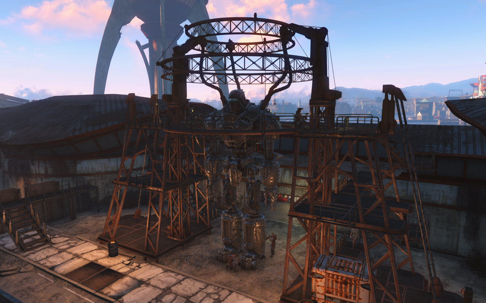 FO4 Liberty Prime activation