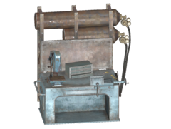 FO4 Weapons Workbench Shelved Variant