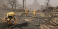 FO76 Autominers digging