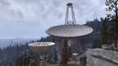 FO76 National Isolated Radio Array dishes