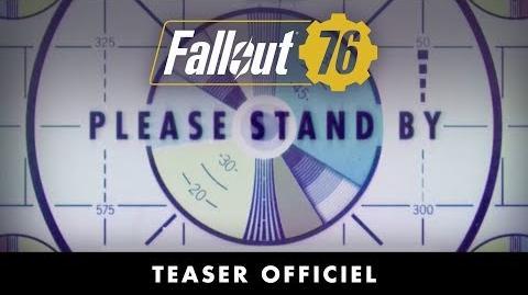 Fallout 76 – Teaser officiel