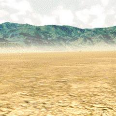 Wasteland background in <i>Fallout</i>