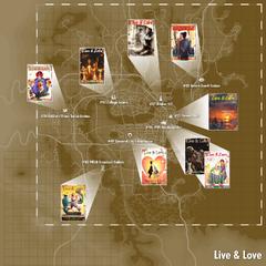 Місцезнаходження журналів на карті