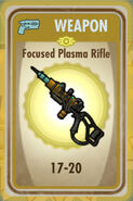 FoS Focused Plasma Rifle Card