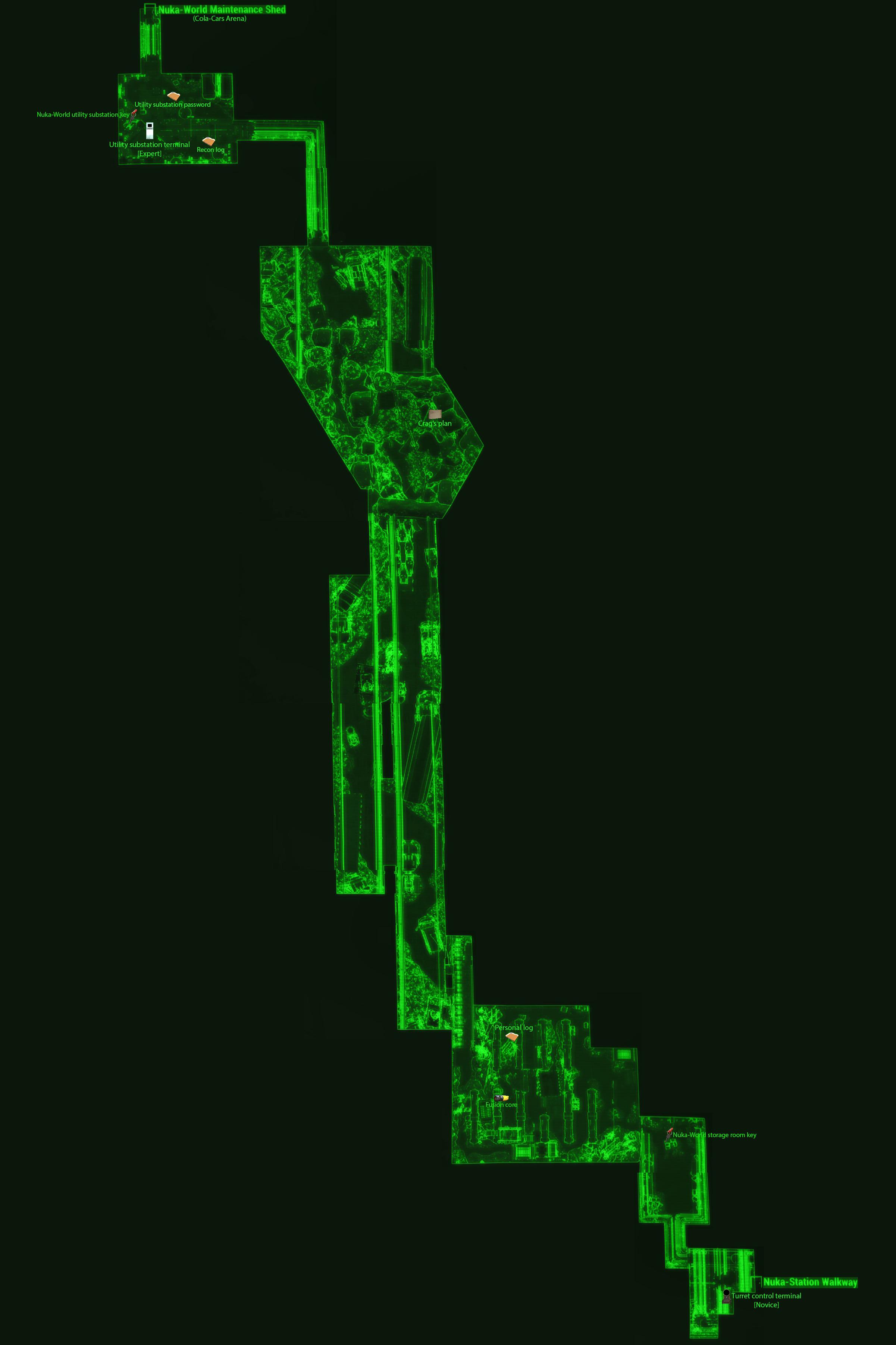 Nuka World Access Tunnels Fallout Wiki Fandom Powered By Wikia