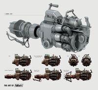 Art of Fallout 4 Junk Jet