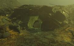 Cave glowingsea