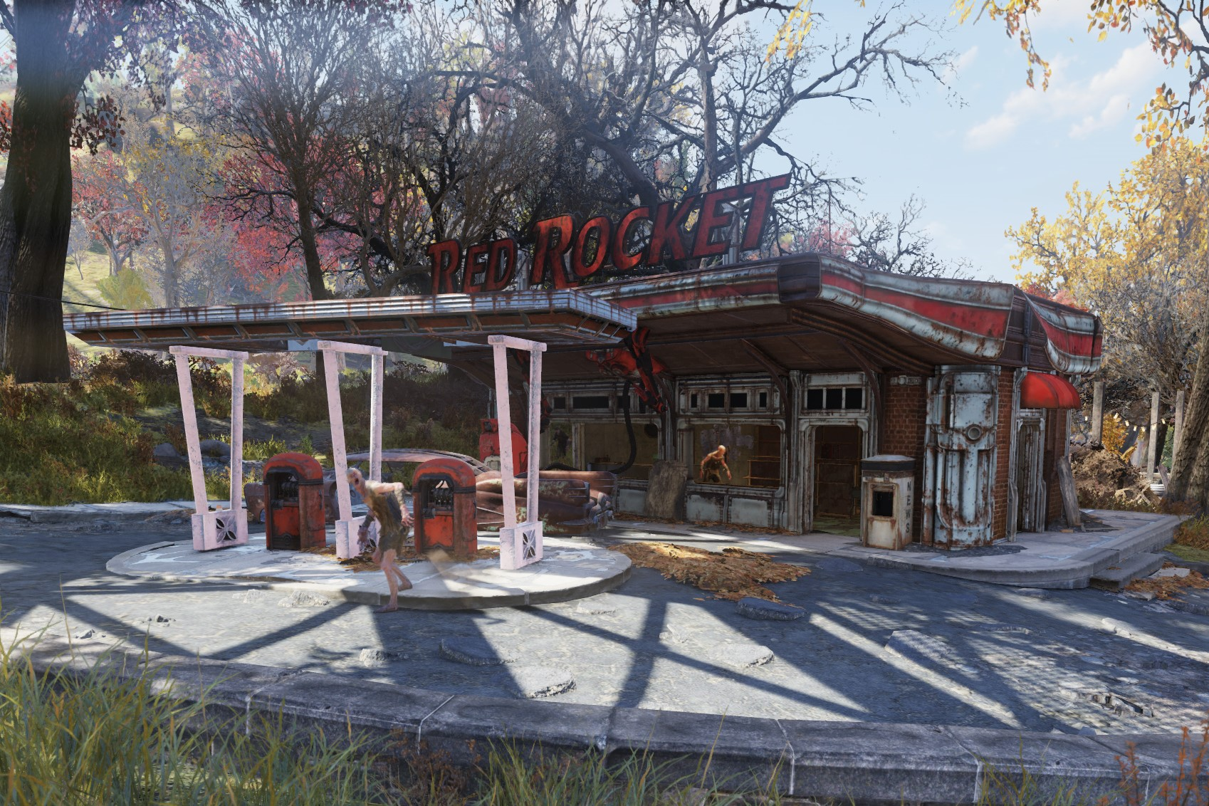 FO76 Flatwoods (Red Rocket)