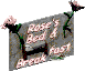 Fo2 Rose Bed and breakfest sign