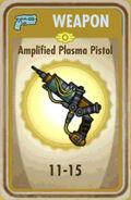 FoS Amplified Plasma Pistol Card