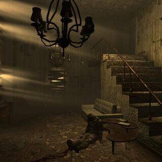 Мертвий рейдер в будинку
