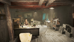 Valentine Detective Agency interior