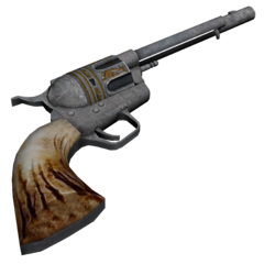Hi res image of the .357 Magnum revolver with the heavy duty (HD) cylinder and long barrel modifications