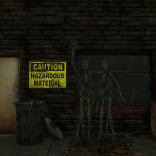 Greeter skeletons