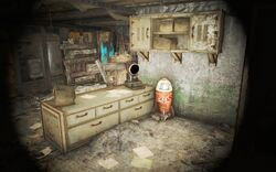 FO4NW Nuka-World access tunnels Turret Control Terminal