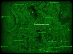 FO4 Дженерал Атомикс Галлериа (карта мира)