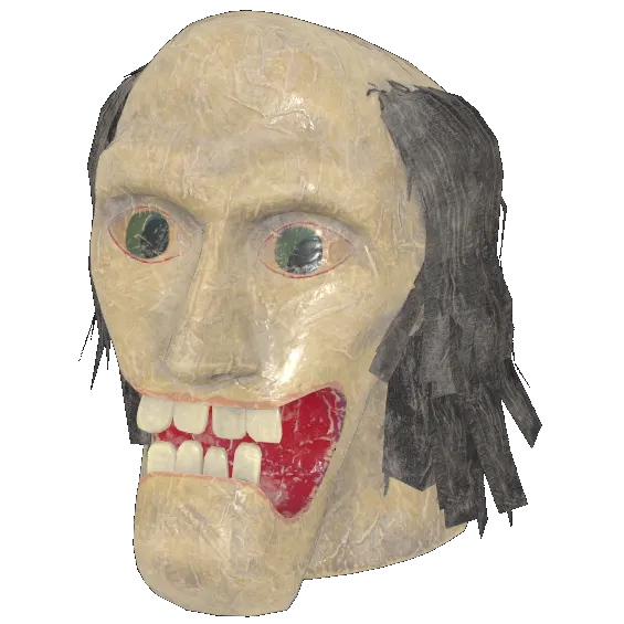 Faschnacht toothy mask