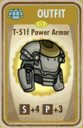 FoS T-51f Power Armor Card