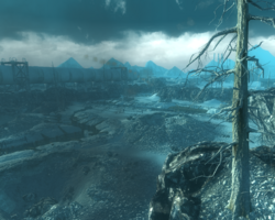 FO3 Battlefield Thenches overlook