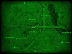 FO4 Аптека (карта мира)