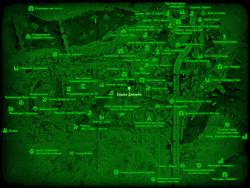 FO4 Башня Джимбо (карта мира)