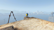 FO4 Agility Vault-Tec Bobblehead in Wreck of the FMS Northern Star