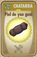 FOS Piel de yao guai carta