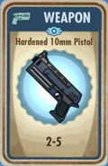 FoS Hardened 10mm Pistol Card