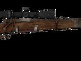 Boone's scoped hunting rifle