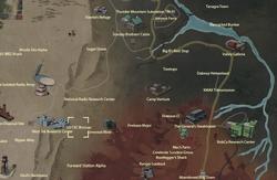 US-13C Bivouac map