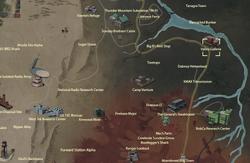 Valley Galleria map
