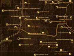 FNV Карта АВАНПОСТ МОХАВЕ