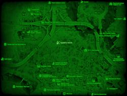 FO4 Гравий и песок (карта мира)