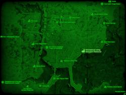 FO4 Консервный завод Большого Луковски (карта мира)