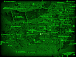 FO4 Тринити-тауэр (карта мира)