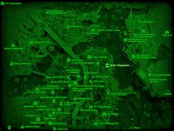 FO4 Штаб «Подземки» (карта мира)