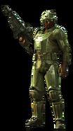 FO4 Gunner in Heavy Combat Armor