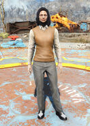 FO4 Sweater Vest and Slacks female