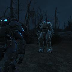 X-01 вночі