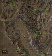 Fallout 2 world map