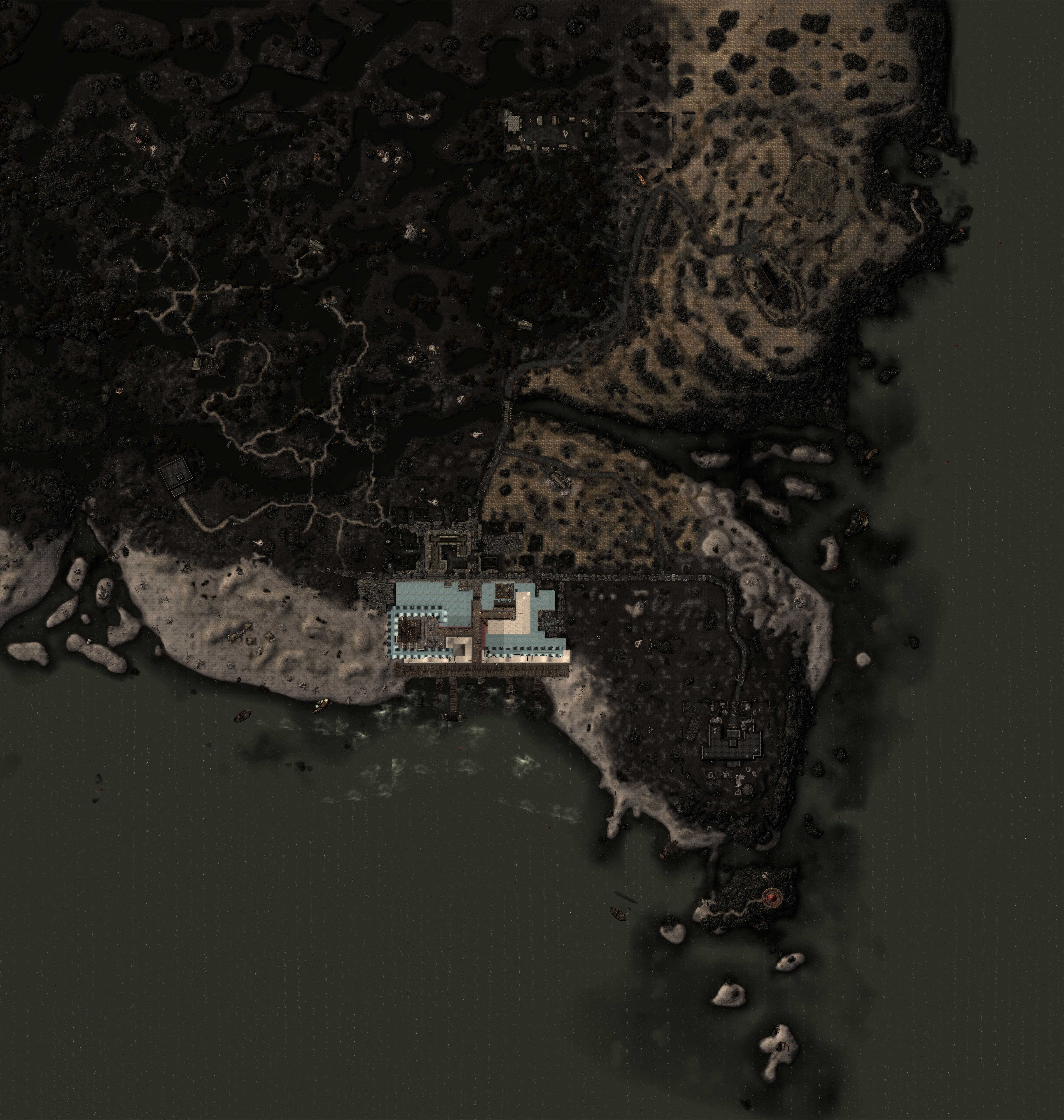 Is There An Image Of The Full Local Map For The Wasteland Of Any