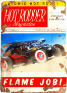 Hot rodder - flame job