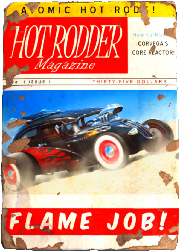 Hot Rodder | Fallout Wiki | FANDOM powered by Wikia