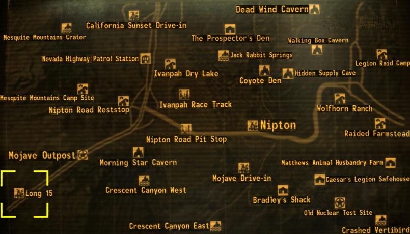 fallout new vegas map size - Hobit.fullring.co