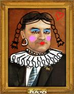 Śmieszny portret kimballa