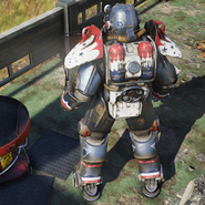 Atx skin powerarmor paint patriot c4