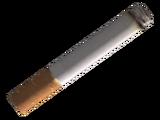 Distinctive cigarette butt